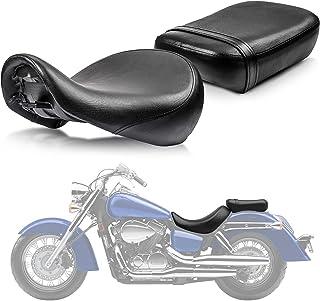 Front Rider Driver Rear Passanger Seat Pillion Cushion For Honda Shadow Aero VT750C 2004-2013