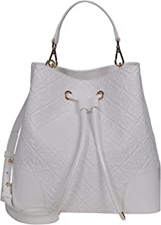 SILVIO TOSSI Damen Lederhandtasche Schultertasche Weiss Modell 13239-02