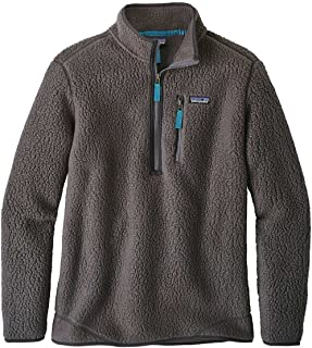 Patagonia Men's Retro Pile Fleece Pullover (XS, Forge Grey)