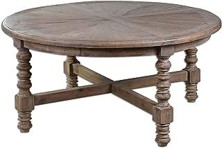 Uttermost Samuelle Wooden Coffee Table, Brown