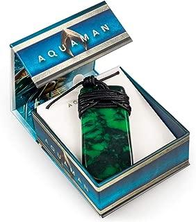 Aquaman Collectibles | Aquaman Movie Maori Toki Pendant | Replica 24 Inch Necklace