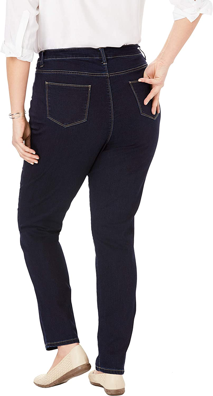 Woman Within Women's Plus Size Perfect Skinny Jean