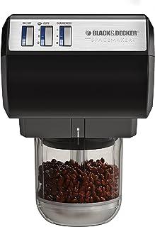 Black & Decker CG700 Spacemaker 咖啡?#24515;?#26426;和切碎机 黑色 黑色 CG700