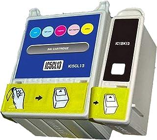 EPSON用 エプソン用 IC5CL13 IC1BK13 (2パック ブラック カラー) 互換インクカートリッジ 対応機種:PM-730C PM-740C PM-740DU PM-830C PM-840C PM-850PT PM-860PT