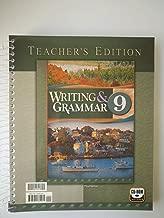Writing and Grammar, No. 9, Teacher's Edition
