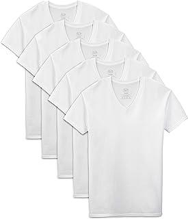 Fruit of the Loom–Camiseta de Extended tamaños Playera de Cuello de Pico (Pack de 5), Color