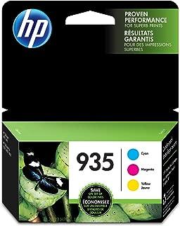 HP 935 | 3 Ink Cartridges | Cyan, Magenta, Yellow | C2P20AN, C2P21A, C2P22AN