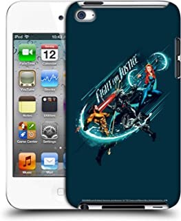 Official Aquaman Movie Fight for Justice Graphics Hard Back Case Compatible for Apple iPod Touch 4G 4th Gen