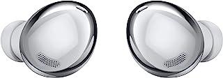 سماعات الاذن اللاسلكية جالكسي بادز برو من سامسونج، مزودة بتقنية الغاء الضوضاء النشطة الذكية، فضي فانتوم