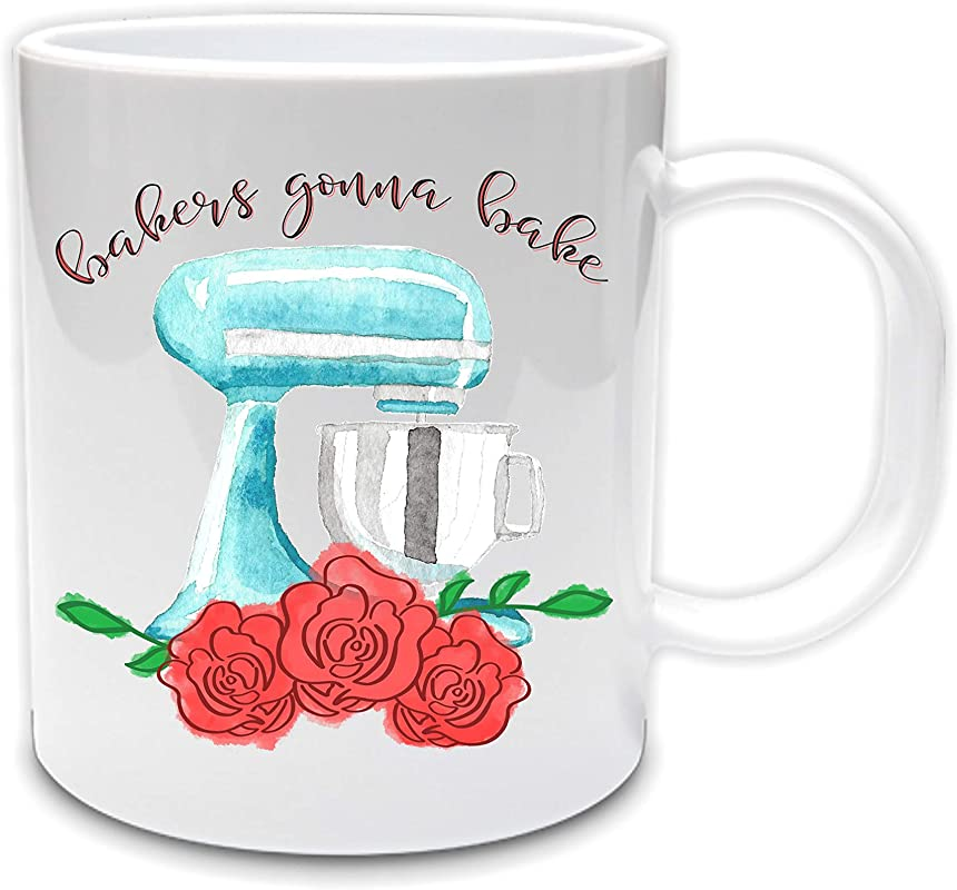 Bakers Gonna Bake 11oz Ceramic Coffee Mug