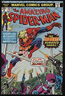 Amazing Spider-Man #153 VF- OW Pgs