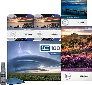 LEE Filters LEE100 77mm Scenic Pro Kit - LEE100 Filter Holder, Lee 100mm Medium Edge Set Graduated ND Filters LEE 100mm Bi...