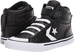 1f954d3636236e Converse kids pro blaze strap leather and suede hi little kid big ...