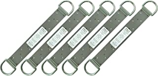 Guardian Protection 00510 18-inch 2 D-ring Ridge-It Fall Arrest Anchors, 5-Pack