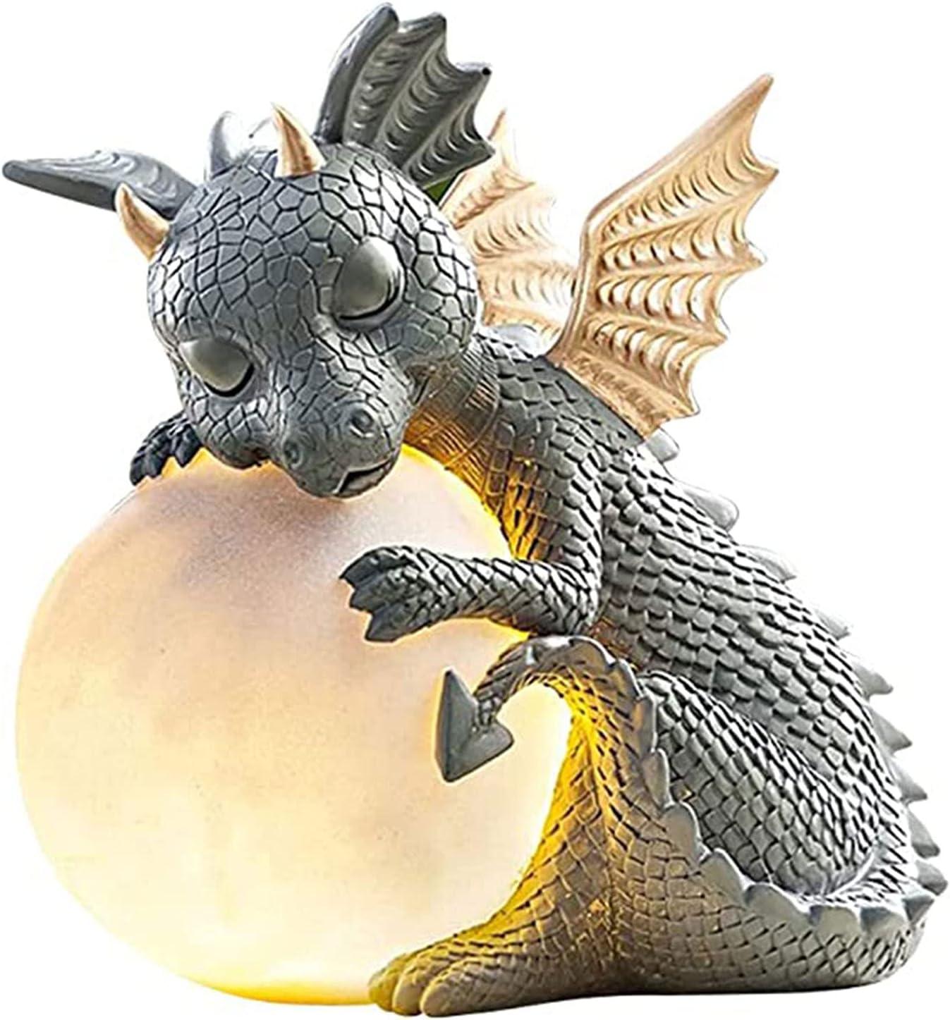 Outdoor Statues Spring new work 6 Inch Dragon mysticalls Resin Garden Max 51% OFF