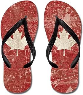 Canada - Flip Flops, Funny Thong Sandals, Beach Sandals