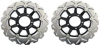 TARAZON 2x Front Brake Discs Rotors for Triumph SPRINT ST 1050 or ABS 2005-2010/T955 DAYTONA 2002-2006/ T955 SPEED TRIPLE 2002-2004