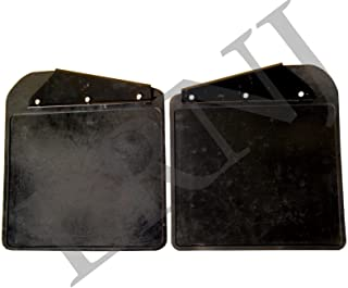 LAND ROVER DEFENDER 90/110 / 130 FRONT MUDFLAP KIT PAIR WITH BRAKETS PART: RTC9479