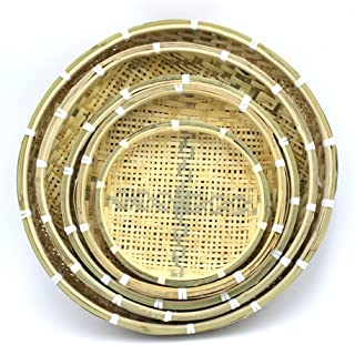 Characteristics of Bamboo Weaving By Hand Bamboo Sieve Bamboo Basket Basket Bamboo Basket Bamboo Fruit Basket