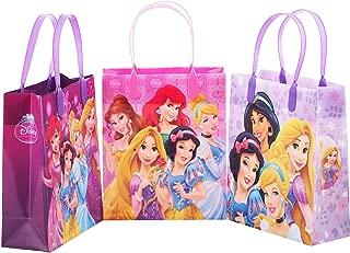 Princess Disney 12 Premium Quality Party Favor Reusable Medium Plastic Gift Goodie Bags 8