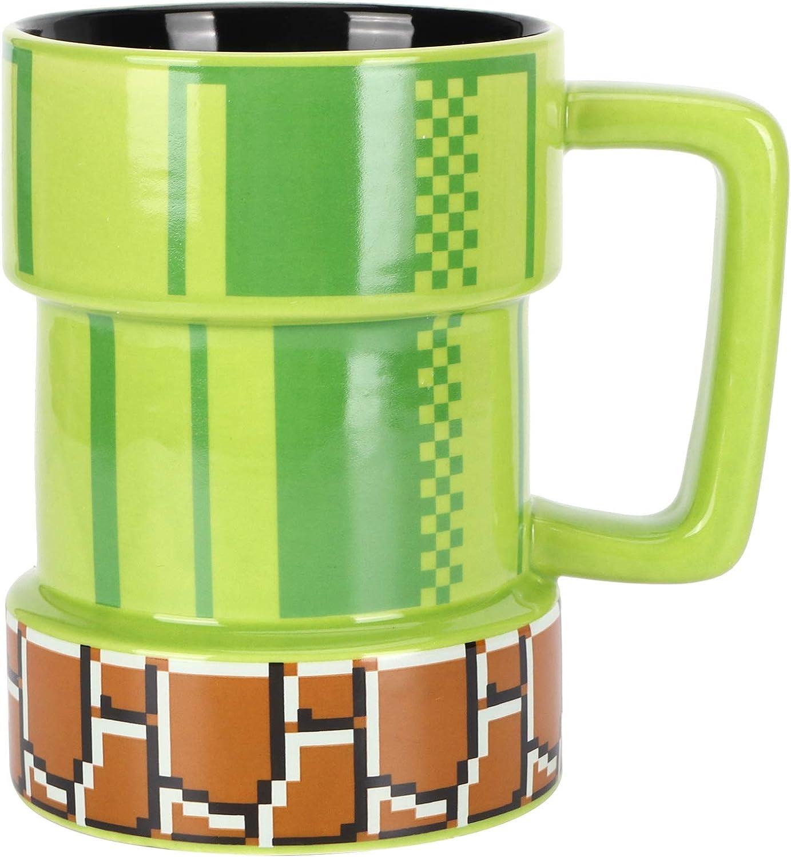 Elegante taza portátil individual Tazas de café para mujeres, hombres, 400 ml, taza de agua para jugo con aislamiento de cerámica, anti-quemaduras, la vida es tan divertida como un juego