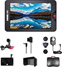 Osee G7 7 Inch Ultra-Bright 3000 Nits DSLR Camera Field HDR Monitor 1920×1200 Full HD 3G SDI 4K HDMI in&Out Including Arm ...