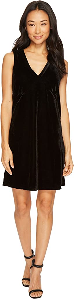Lilla P - Sleeveless V-Neck Dress