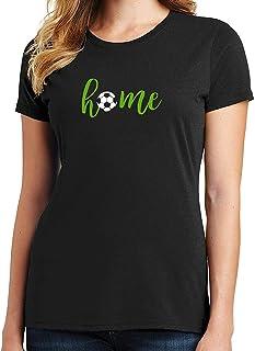 RHEYJQA Soccer Home Women's T-Shirt