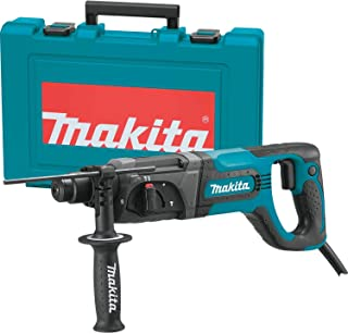 """Makita HR2475 1"""" Rotary Hammer, Accepts Sds-Plus Bits (D-Handle)"""