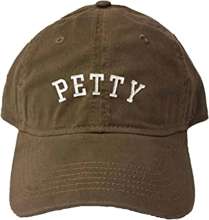 Go All Out Adult Petty Embroidered Deluxe Dad Hat