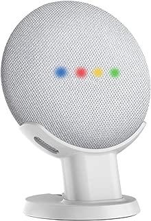SPORTLINK Home Mini 卓上スタンド 卓上マウント スマート すポーカー スタンド Google Home Mini カバー グーグル ホーム ミニケース (卓上スタンド ホワイト)