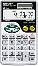 $21 » Sharp EL344RB EL344RB Metric Conversion Wallet Calculator 10-Digit LCD