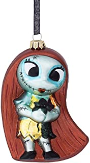 Disney Parks Sally Nightmare Before Christmas Blown Glass Ornament