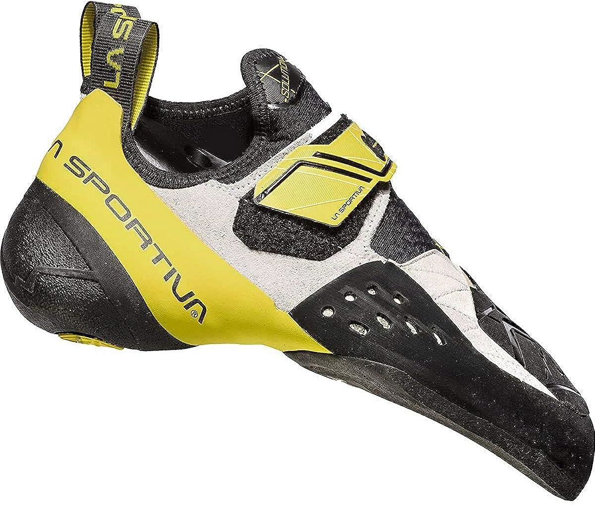 La Sportiva Solution White/Yellow Talla:
