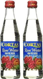 Cortas Premium Rose Water 10 oz - Pack 2