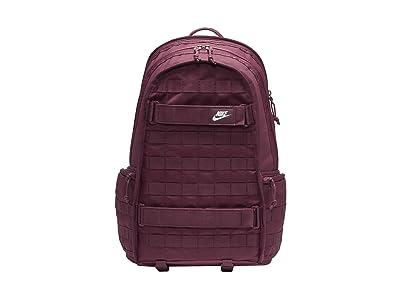 Nike RPM Backpack NSW (Night Maroon/Night Maroon/White) Backpack Bags