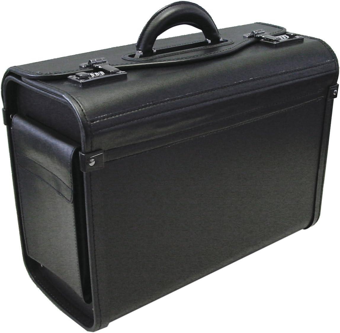 Max 74% OFF service ALASSIO Men's Pilot Case Black Size One