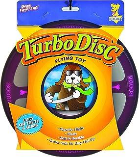 Petmate Softbite Turbo Disc Superior Flight Dog Frisbee Assorted Bright Colors