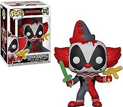 Funko Pop! Marvel X-Men: Deadpool Playtime - Deadpool Clown Vinyl Figure