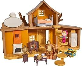SIMBA 109301032 Masha Large Bear House Play Set, Multi, 0