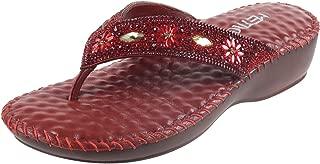 Metro Women Beaded Sandals (44-3570)