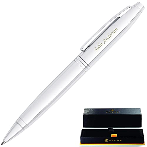 with its own gift box or pouch Personalised Engraved Metal  Pen blue