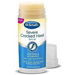 Dr. Scholl's Cracked Heel Repair Balm 2.5oz, with 25% Urea