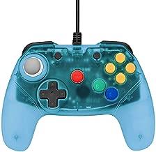 Blue Brawler 64 Gamepad Next Gen N64 Controller [Retro Fighters]