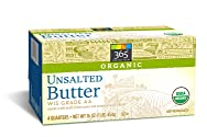 365 Everyday Value, Organic Butter Unsalted, 1 lb