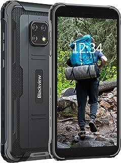 Blackview BV4900 Pro スマートフォン防水アウトドア 4G SIMフリー スマホ本体 防水 防塵 耐衝撃 4GB RAM 64GB ROM 5MP+13MP防水カメラ Android 10 IP68 5580mAh大容量バッテ...