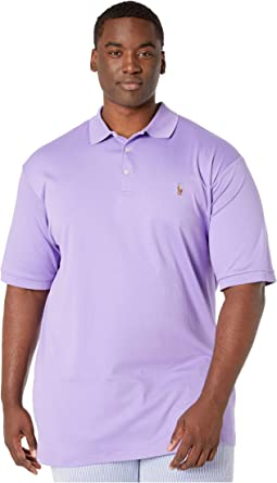 Big & Tall Short Sleeve Mesh Polo
