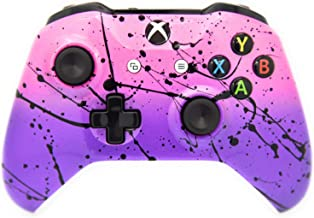 Best Hand Airbrushed Fade Xbox One Custom Controller Compatible with Xbox One (Pink & Purple) Review