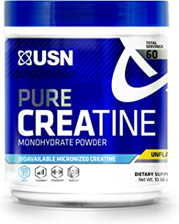 USN Pure Creatine Monohydrate Powder, 300 Grams