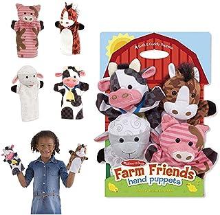 Melissa & Doug Farm Friends Hand Puppets - The Original 1 EA 9080